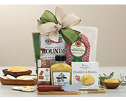 Deluxe Cut Above Gift Basket - Item No: 027