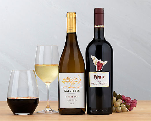 Cliffside Cabernet and Chardonnay - Item No: 033