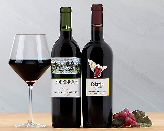 Cliffside and Talaria Cabernet Gift Basket - Item No: 042