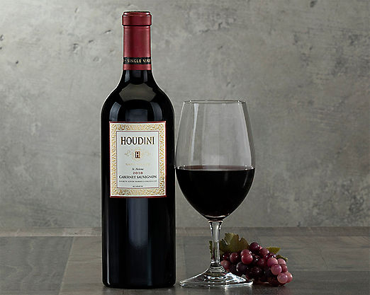 1 Bottle Houdini Napa Valley Cabernet Sauvignon - Item No: 075