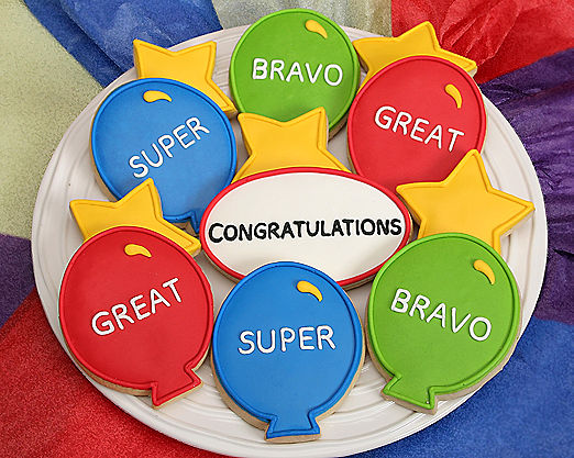 Congratulations Cookie Assortment - Item No: 102