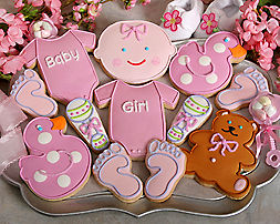 It's a Girl Cookie Assortment - Item No: 104