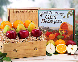Farm Fresh Fruit Collection Gift Basket