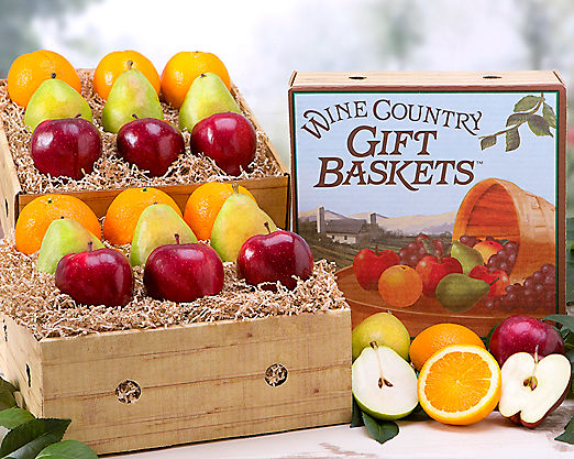 Wine Country Fruit Extravaganza - FREE STANDARD SHIPPING - Item No: 179