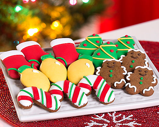 Christmas Gingerbread Cookie Collection - FREE STANDARD SHIPPING - Item No: 216
