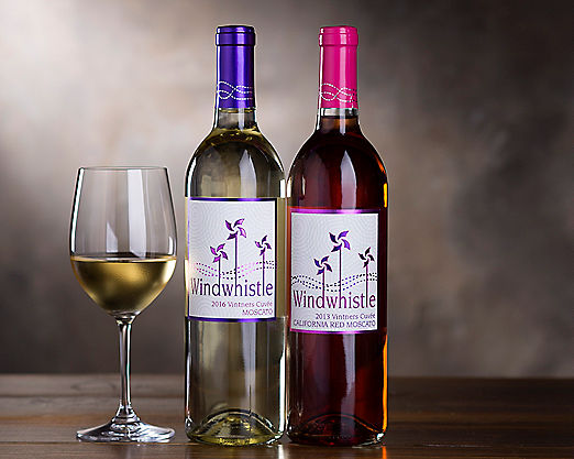 Windwhistle Moscato and Red Moscato - Item No: 291