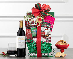 Deluxe Holiday CollectionGift Basket - Item No: 404