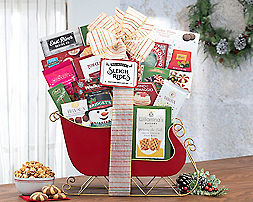 Sleigh of Sweets Gift Basket - Item No: 428