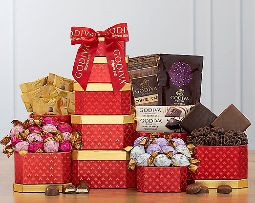 Godiva Valentine Tower - FREE STANDARD SHIPPING - Item No: 447