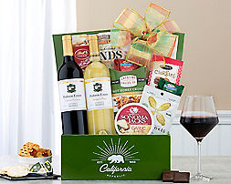 Christmas Cocoa and Sweets AssortmentGift Basket - Item No: 486