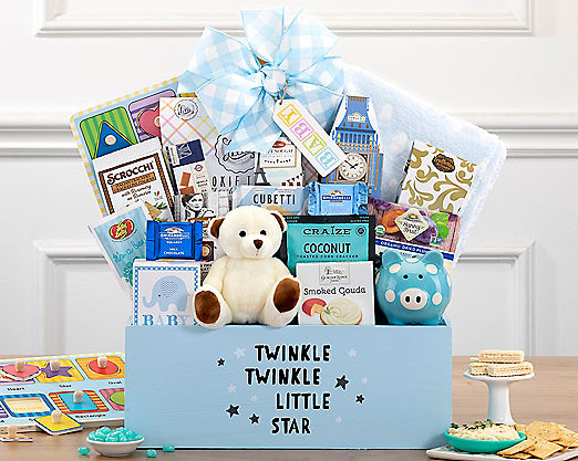 Welcome Home Baby Boy - FREE STANDARD SHIPPING - Item No: 507