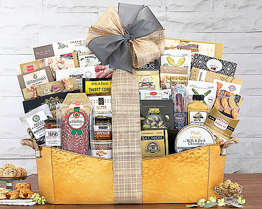The V.I.P. Gift Basket - Item No: 530