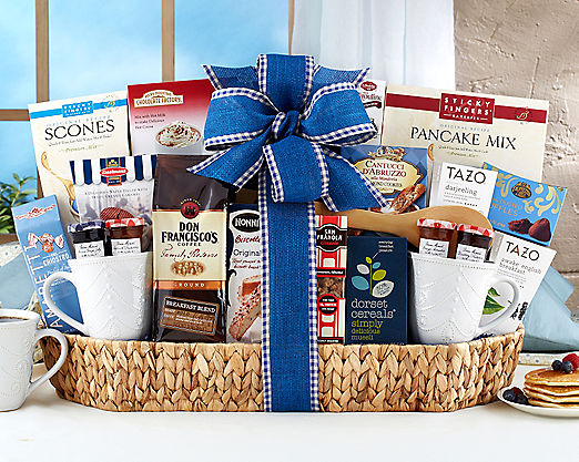 Deluxe Good Morning Assortment Gift Basket - Item No: 538