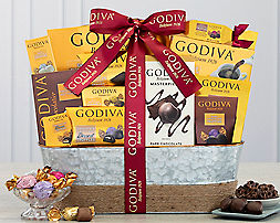 Godiva CollectionGift Basket - Item No: 541