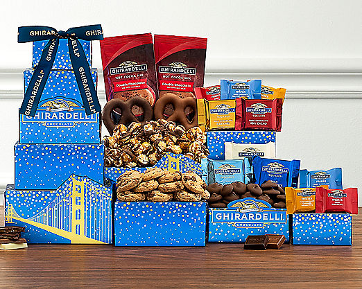 Ghirardelli Chocolate Company Tower - FREE STANDARD SHIPPING - Item No: 542