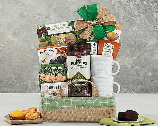 Coffee, Tea and Cocoa Assortment - FREE STANDARD SHIPPING - Item No: 555