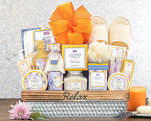 The Great Escape Gift Basket - Item No: 581