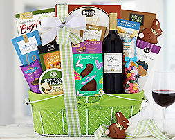 Edenbrook Vineyards Cabernet Easter AssortmentGift Basket - Item No: 585