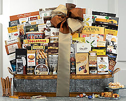 Wine Country ExtravaganzaGift Basket - Item No: 588