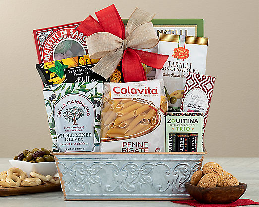 Taste of Italy Gift Basket - Item No: 621
