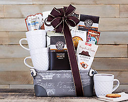 Starbucks Coffee and Tazo Tea CollectionGift Basket - Item No: 622