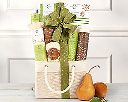 Mandarin & Mango Spa AssortmentGift Basket - Item No: 625