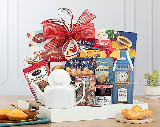 Tea TimeGift Basket - Item No: 626