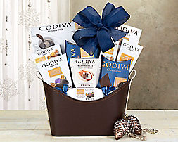 Godiva Kosher CollectionGift Basket - Item No: 679
