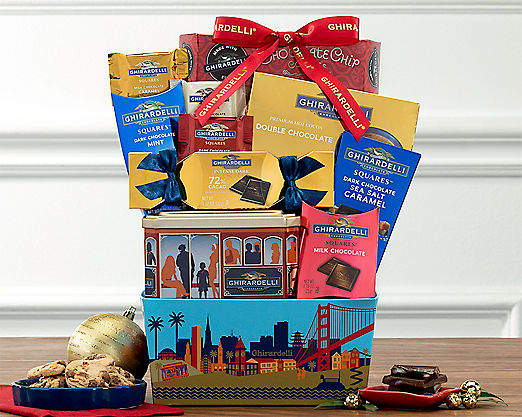 Ghirardelli Assortment - FREE STANDARD SHIPPING - Item No: 682