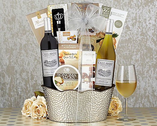 Callaway Vineyards Duet Gift Basket - Item No: 701