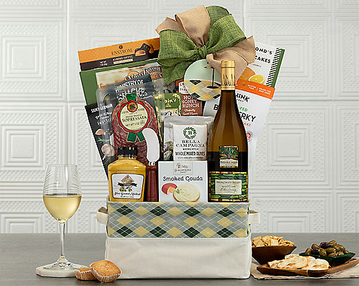 Hole in One with Chardonnay Gift Basket - Item No: 702