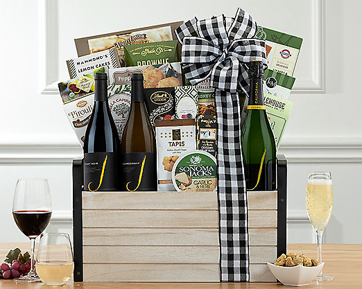 Rodney Strong Estate Collection Gift Basket - Item No: 712