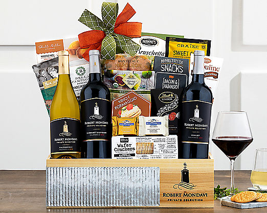 Robert Mondavi Cellar Selection Gift Basket - Item No: 714