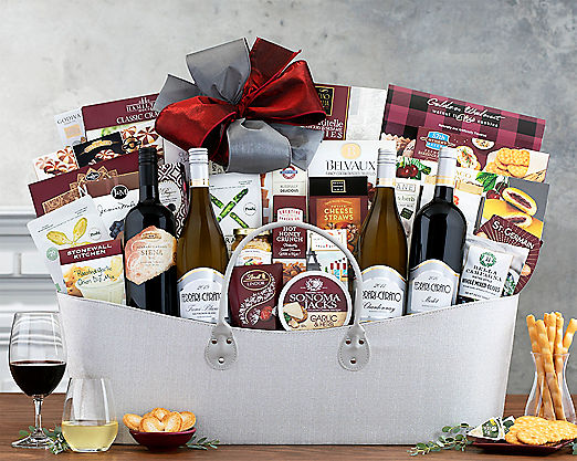 Ferrari-Carano Exclusive Gift Basket - Item No: 716