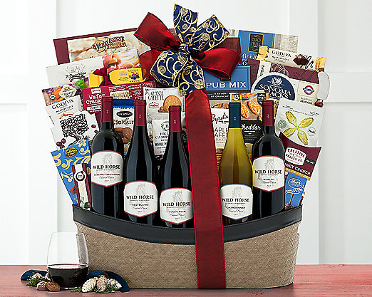 Rock Falls Vineyards Spa Extravaganza Gift Basket - Item No: 727