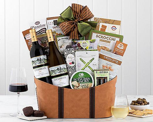 Rock Falls Vineyards California Assortment Gift Basket - Item No: 735