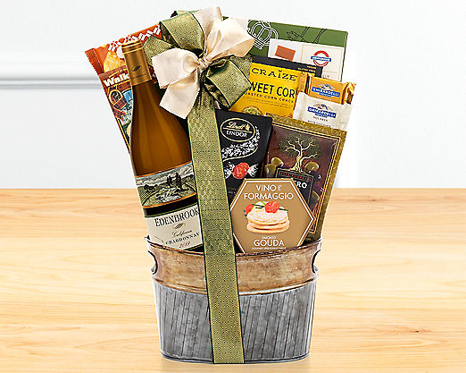 Callister Cellars Chardonnay Gift Basket - Item No: 737
