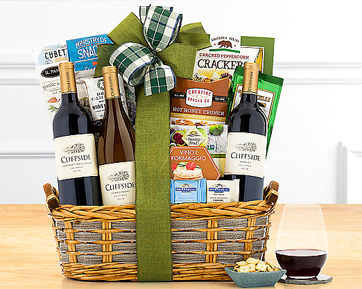 Eastpoint Cellars Trio Gift Basket - Item No: 738