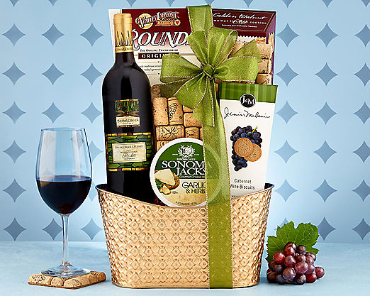 Callister Cellars Merlot Gift Basket - Item No: 747