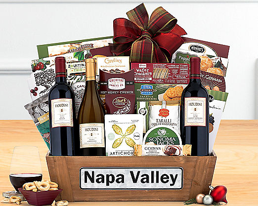 Houdini Napa Valley Trio - Available 10/10/2014 - STANDARD SHIPPING INCLUDED - Item No: 750