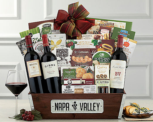 Jordan and J Winery Gift Basket - Item No: 756