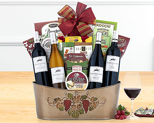 Steeplechase Vineyards Quartet - STANDARD SHIPPING INCLUDED - Item No: 762