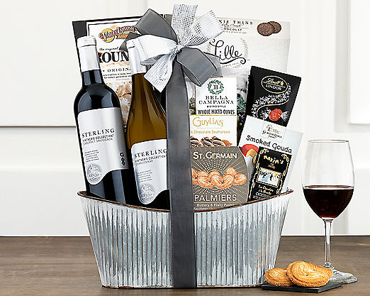 Sterling Vintner's Collection Gift Basket - Item No: 790