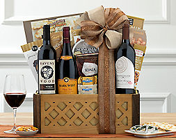 Hot Beverage and Cookie CollectionGift Basket - Item No: 805