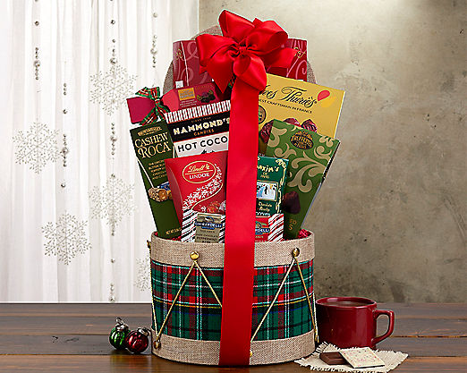 Chocolate Drum Assortment - FREE STANDARD SHIPPING - Item No: 845
