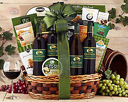 Holiday FlyerGift Basket - Item No: 866