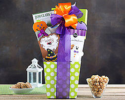 Spookie Cookie, Cocoa and Chocolate Assortment Gift Basket - Item No: 904