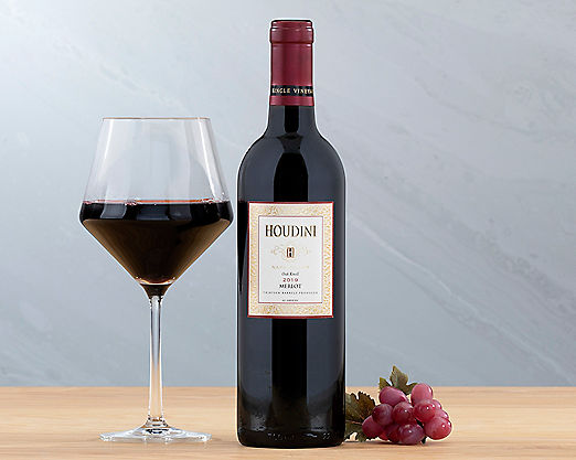 1 Bottle Houdini Napa Valley Merlot - Item No: 939