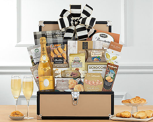 Louis Roederer Cristal Collection Gift Basket - Item No: 983