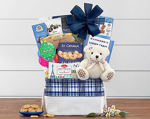 Bear Hugs - Congratulations Gift Basket - Item No: 989C